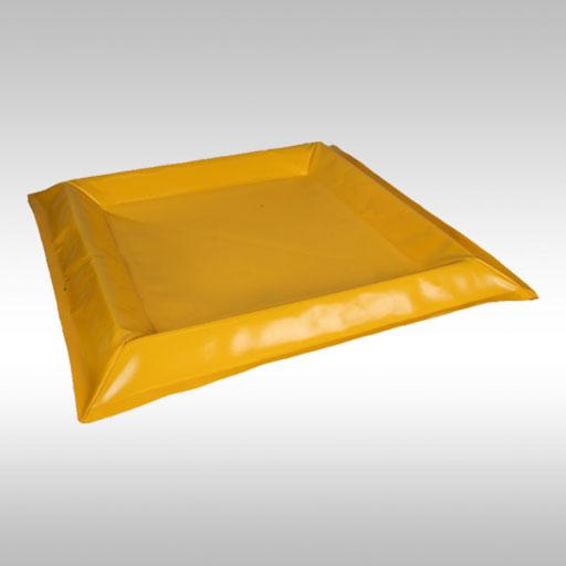 yellow 4 drum spill mat