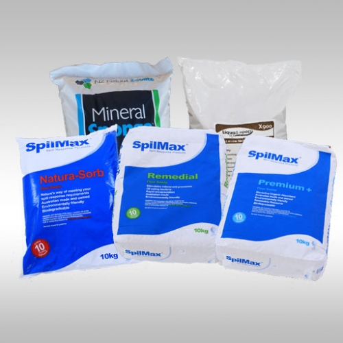 bags of different types of floor sweep