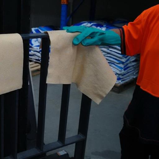 universal absorbent wipe equipment wipe down
