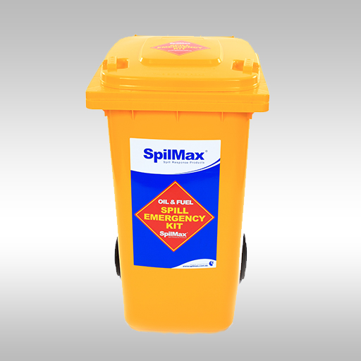 SpilMax 240L fuel & oil spill kit front view
