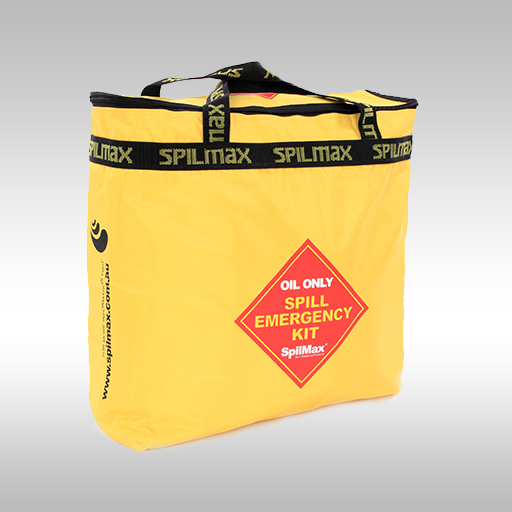 Fuel & Oil Vehicle Spill Kit Bag front angle view