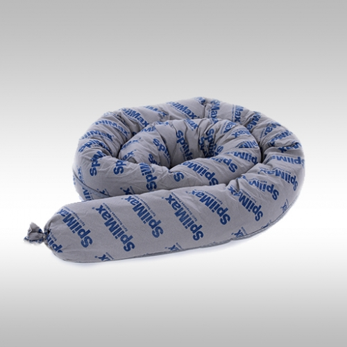 SpilMax 1.2m universal absorbent mini boom coiled