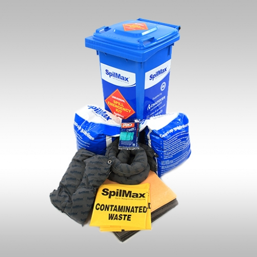 SpilMax 140L Universal Spill Kit with contents