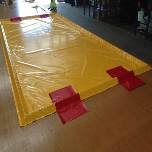 Akuna yellow car wash mat standard design